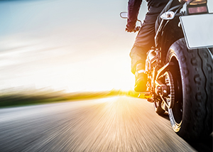 Head-on Motorcycle Accident Involving Three Motorcycles