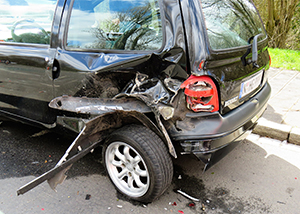 Injury Car Accident in Pocatello Caused by Road Debris