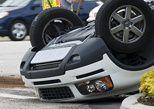 Rollover Car Accident Near Idaho Falls Caused by Driver Falling Asleep